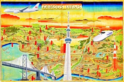Famous views (of Tokyo)