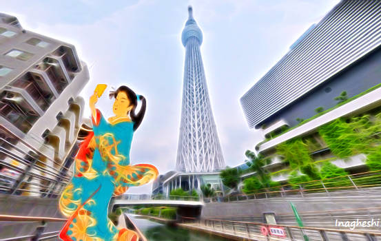 Famous views 4 - Skytree