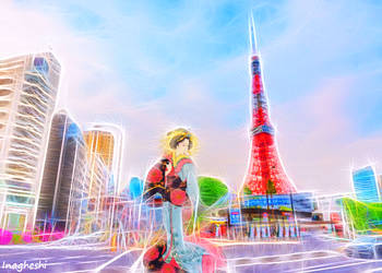 Famous views 7 - Tokyo Tower