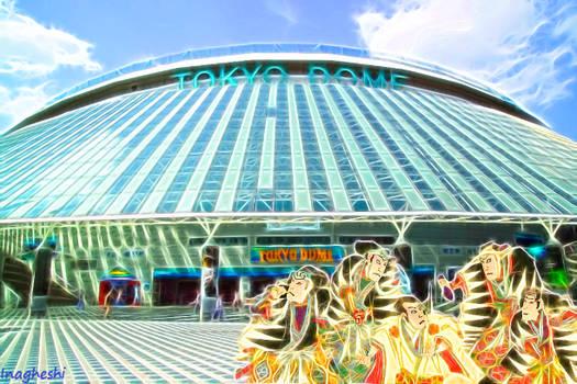 Famous views 8 - Tokyo Dome