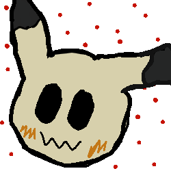 Mimikyu Doodle by SylveonEvee