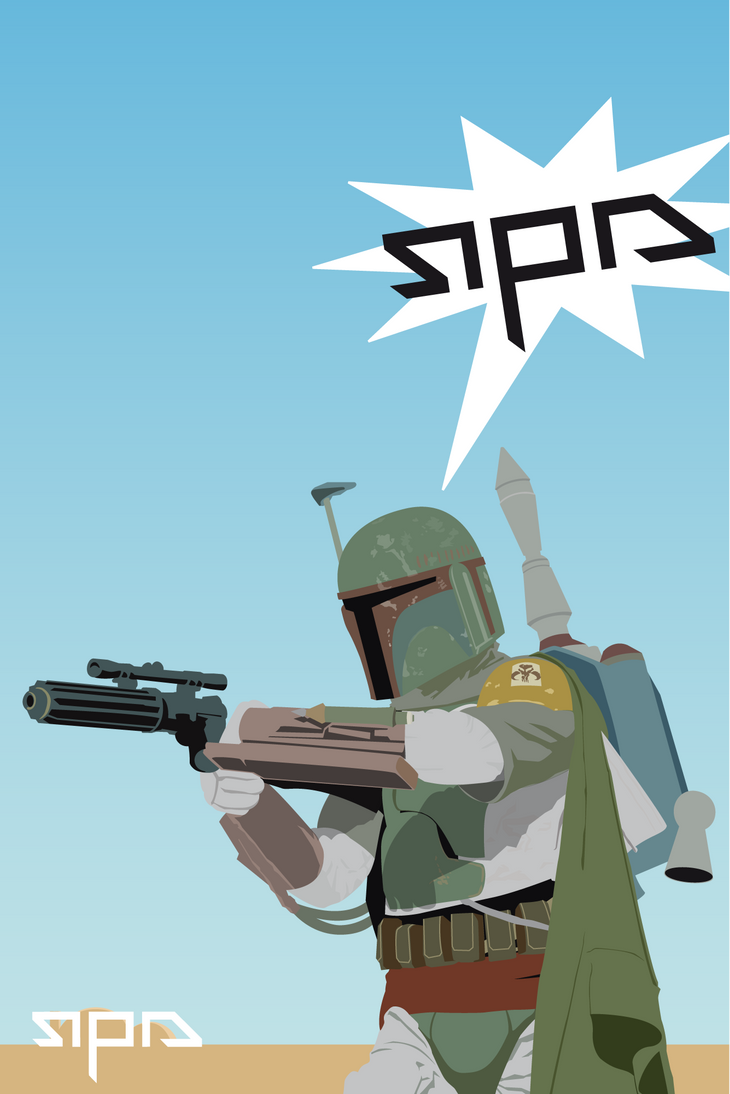 Boba Fett iphone background by RebornRock ...
