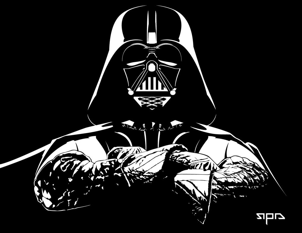 Darth Vader Head Silhouette   Darth Vader Profile Silhouette   DarthDarth Vader Face Vector