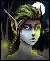 Elvish Portrait by RebornRock