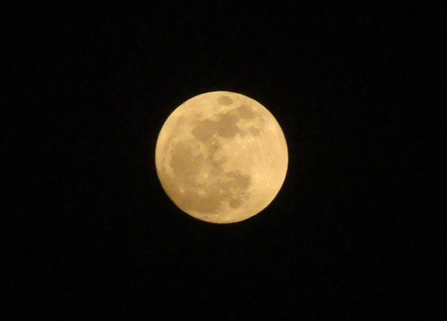 Super Moon - Fresno, CA by Mad-Twatter