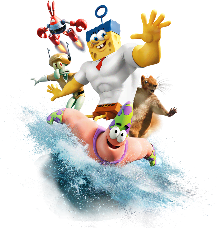 all of the characters from the spongebob movie 2 by isaac618 on