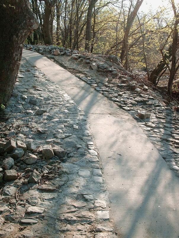 Rock Garden Path by eccentricone