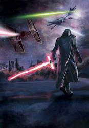 Kylo Ren fan art Star Wars