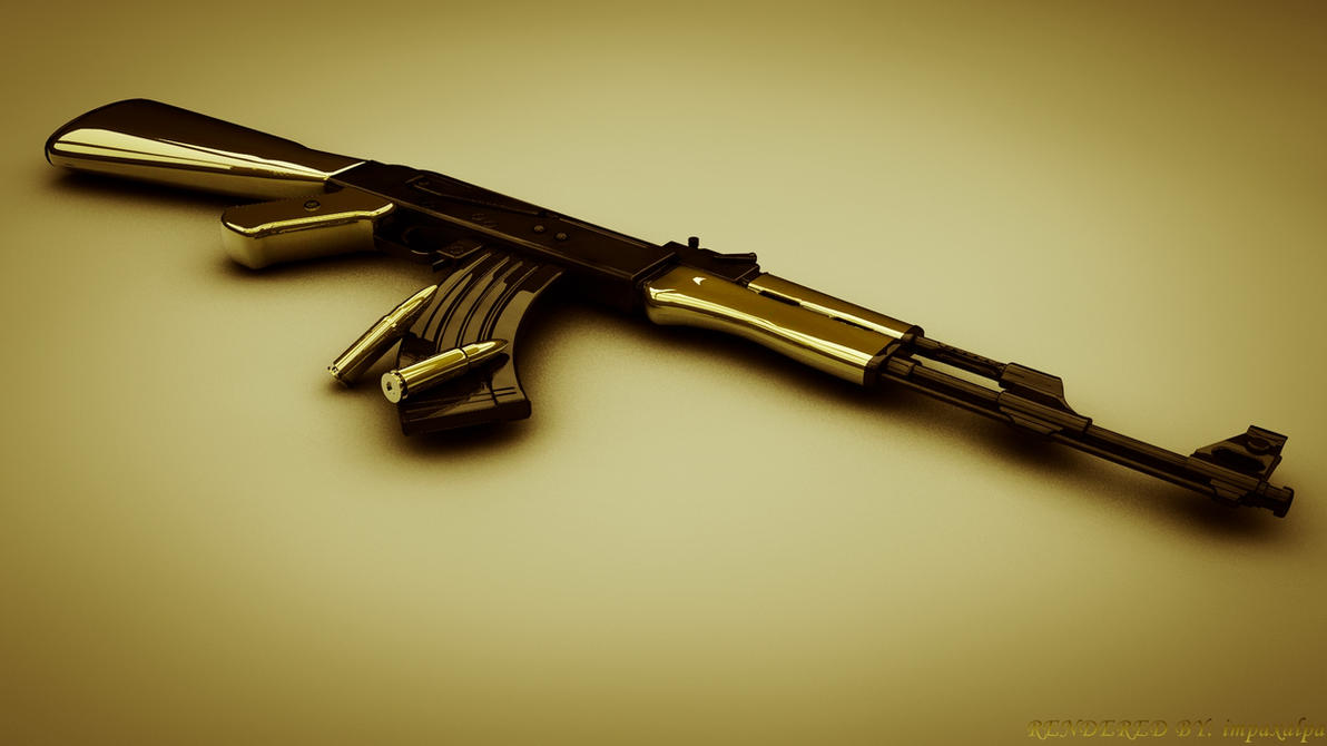 AK 47 Wallpaper By Impaxalpa