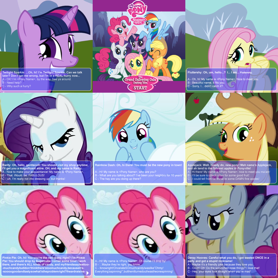 Mlp adult dating sim
