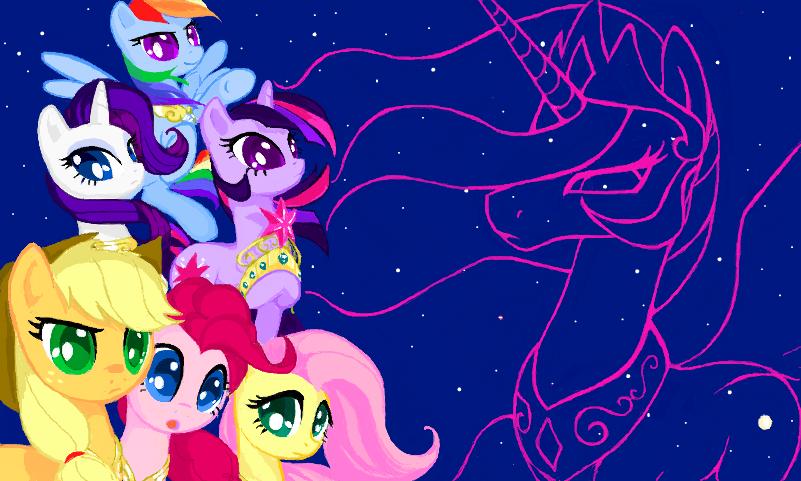 Harmony no Senshi - Little Pony Forever by CallMeDoc