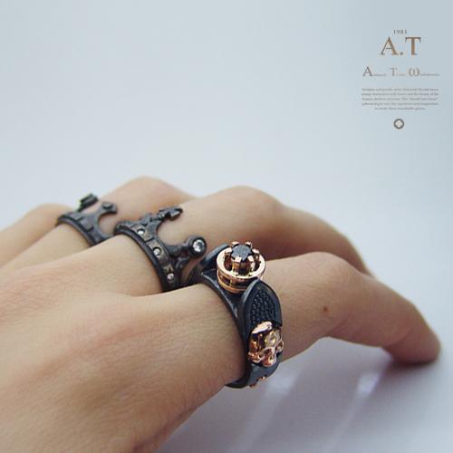 Black Diamond Ring Custom