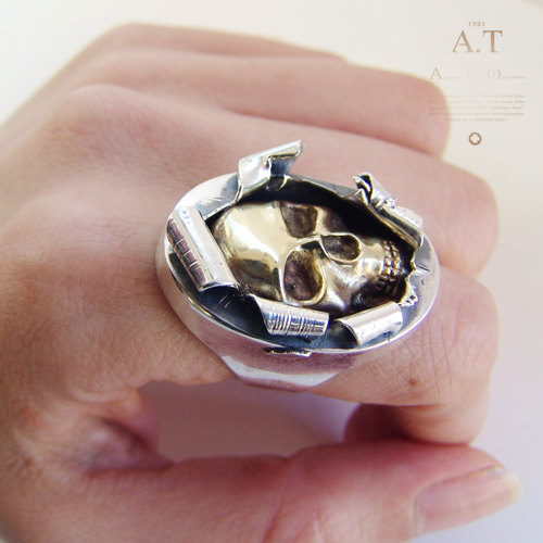 Buy Skull Rings Online India