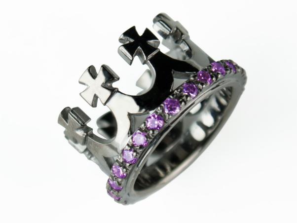 Crown Rings Silver Cheap