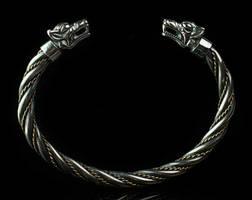 Fenrir bracelet , Viking bracelet - Tyvodar.com