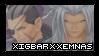 REQUEST - Xigbar X Xemnas by trailerparkk