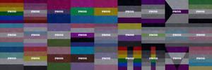 LGBT+ Pride flags