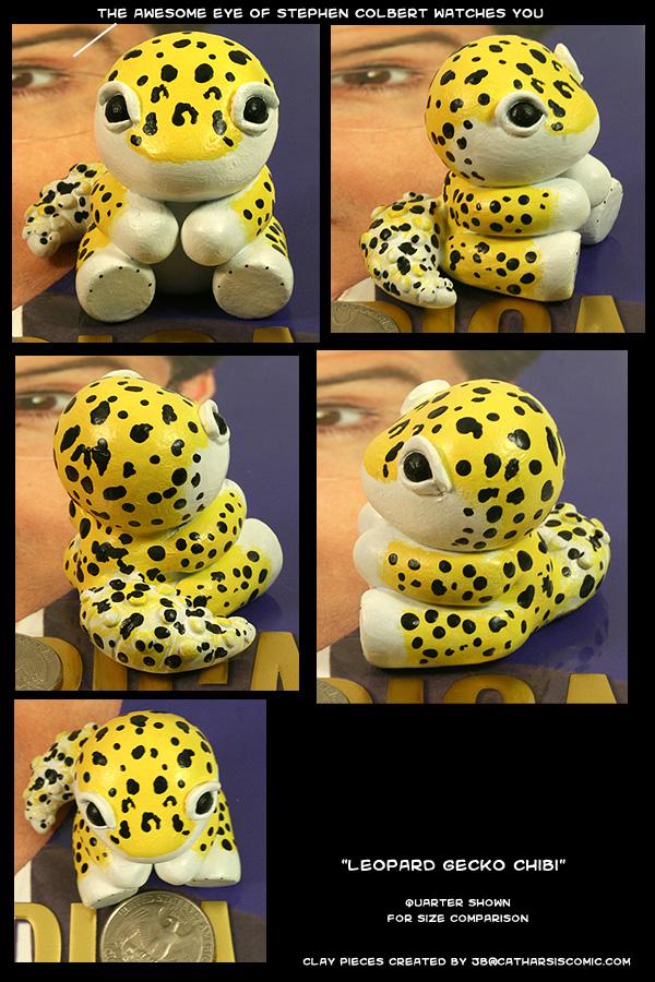 Leopard Gecko Chibi by CatharsisJB