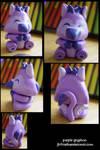 Purple gryphon