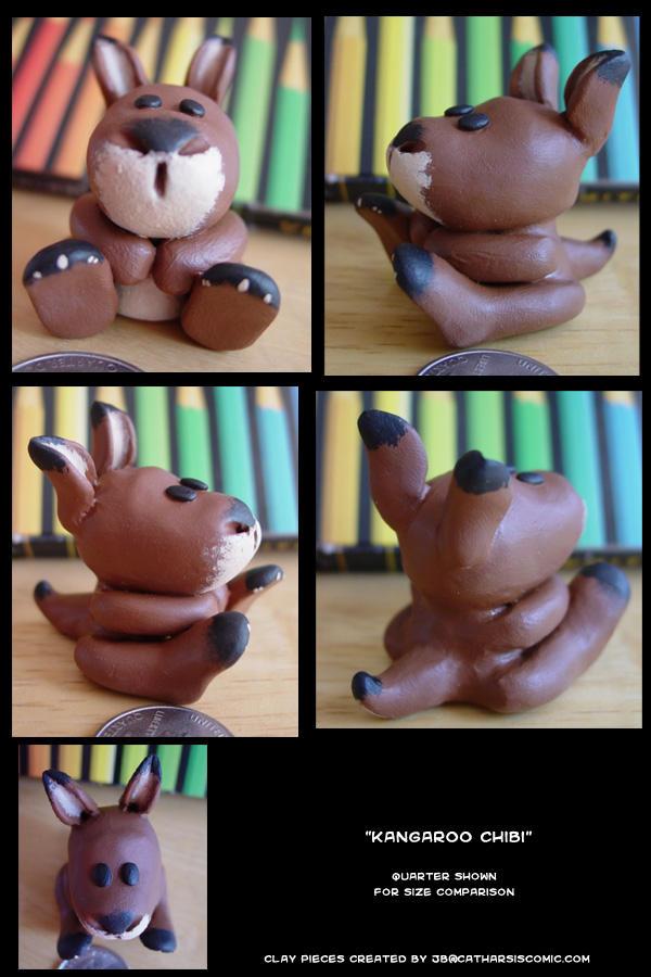 Kangaroo chibi by CatharsisJB