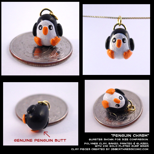 Penguin Charm by CatharsisJB