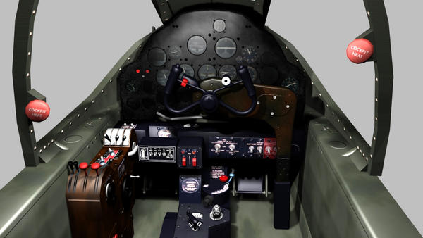 P 38 Cockpit