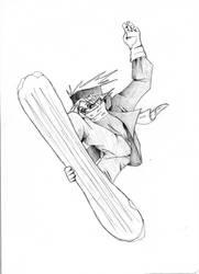 Snowboard by Seikfried
