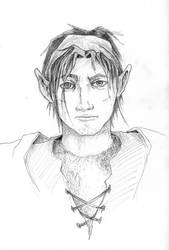 Elfe character by Seikfried
