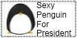 Sexy Penguin For President by SonicRules8