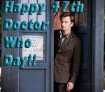 Happy 47th Doctor Who Day