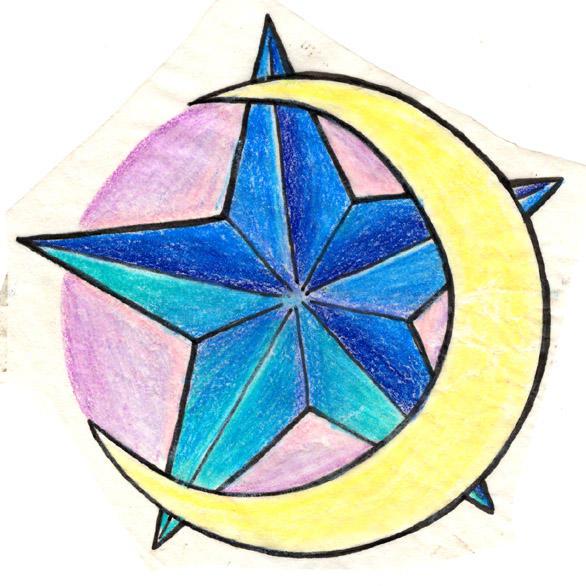 moon star tattoo design by Deborah-Valentine on DeviantArt