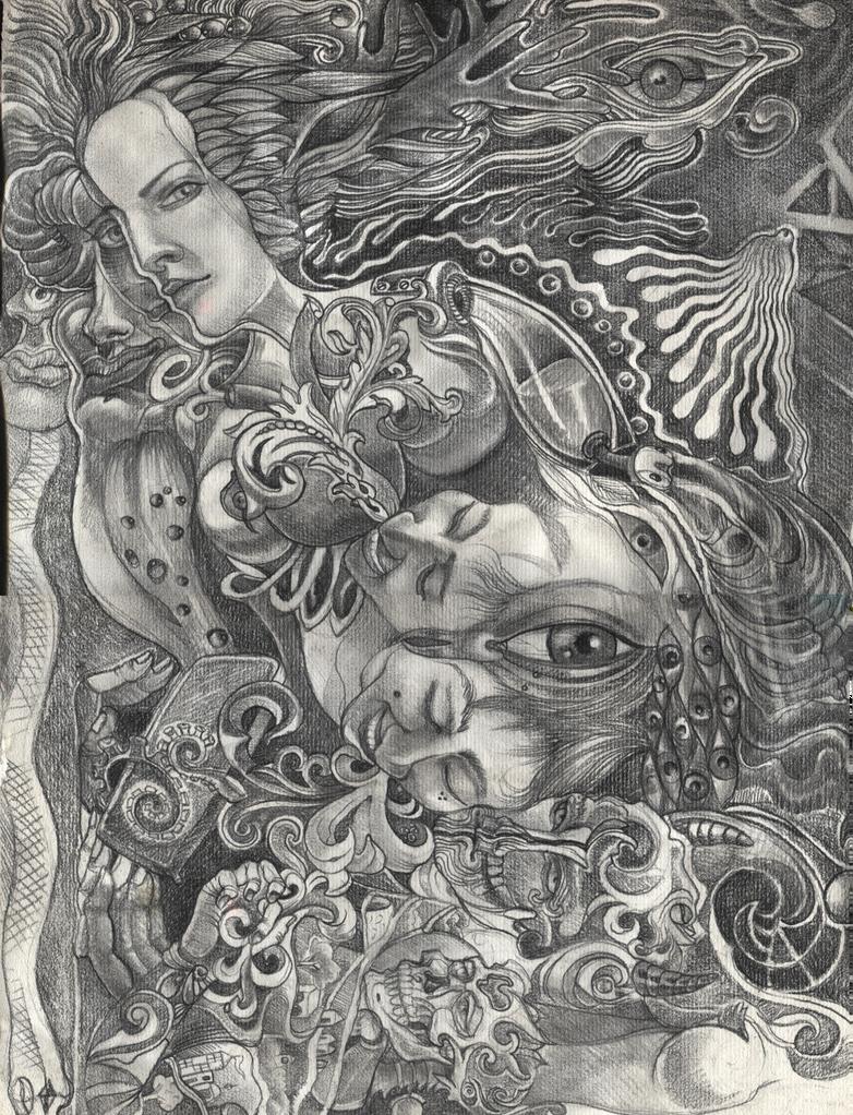 Nature Horn by Deborah-Valentine