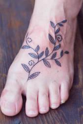 foot by Deborah-Valentine