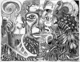 collaboration with Paulo by Deborah-Valentine