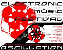 Oscillation Flier by moaiz