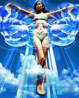 Bubble Angel by moaiz