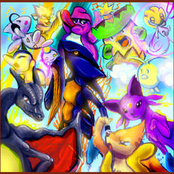 OMG Album Art for Pocast by Ankoku-Flare