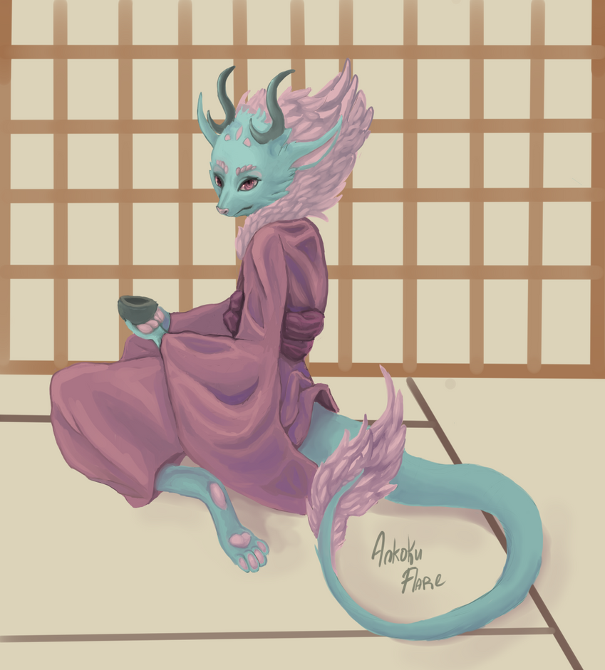 Tea Time by Ankoku-Flare