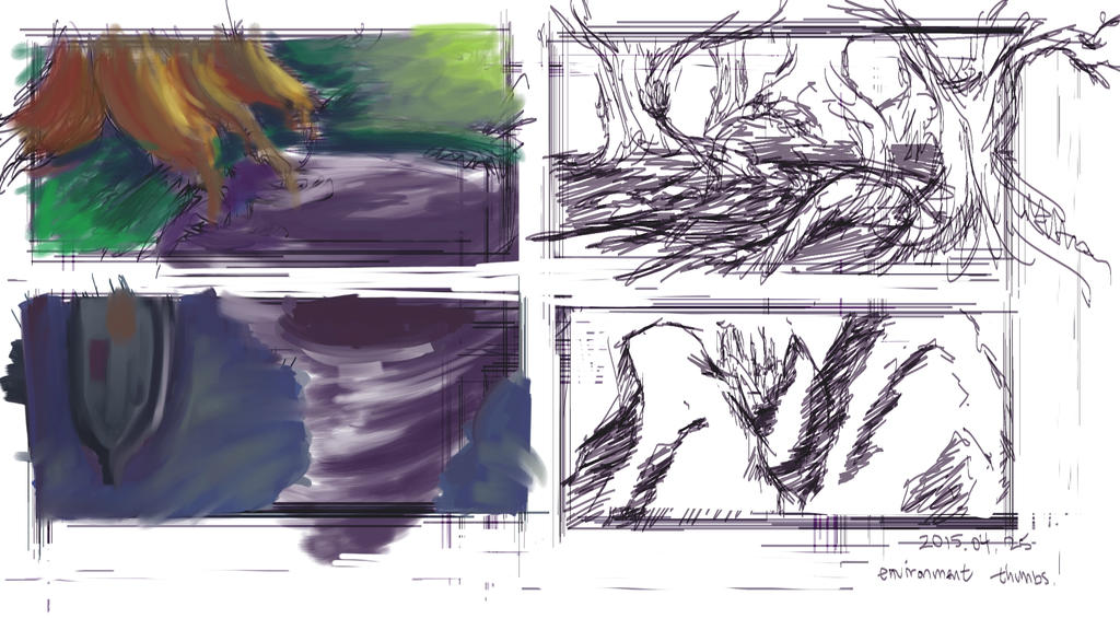 Environment Thumbs 2015-04-25 by FlamesofFireLily