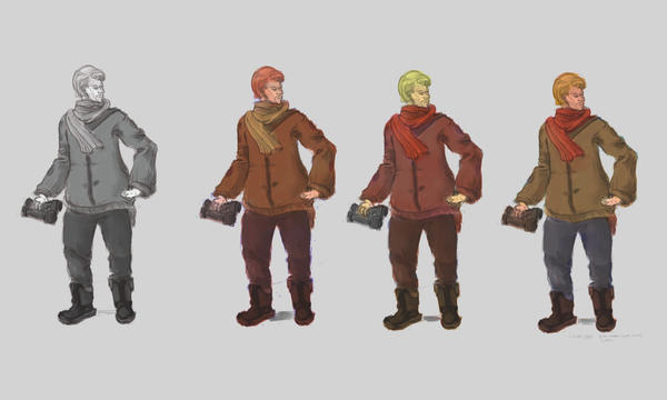 Astor Hummel - color  study by FlamesofFireLily
