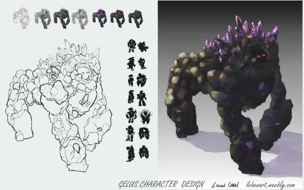 Gelus - design page by FlamesofFireLily