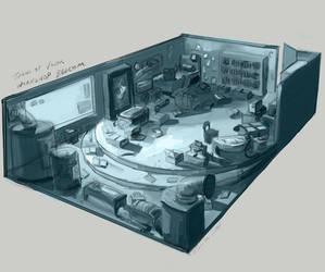 Workshop Bedroom by FlamesofFireLily