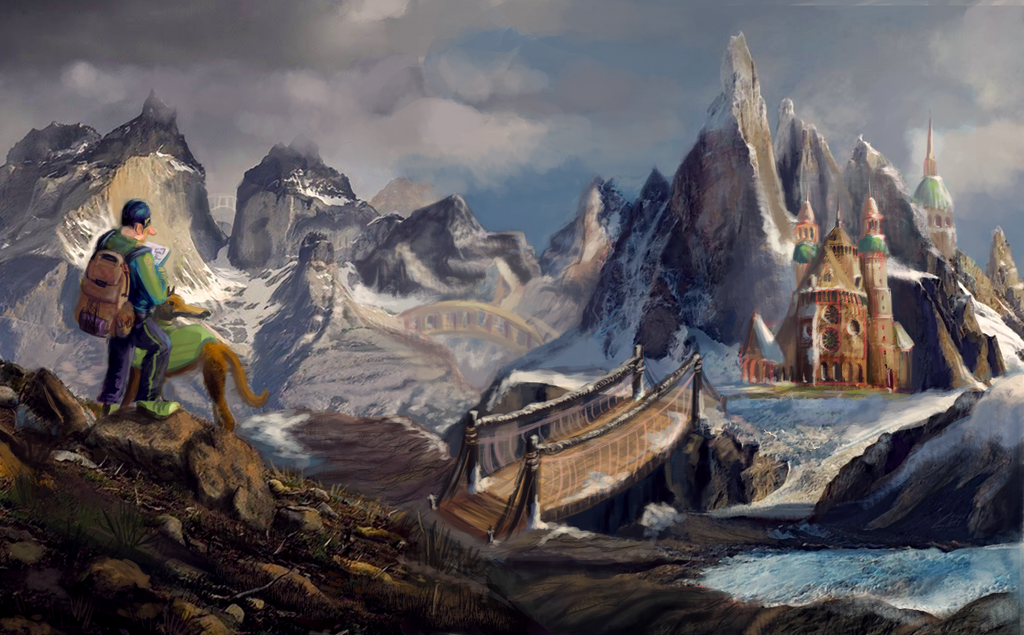 Mountain Cathedral by FlamesofFireLily