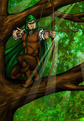 Robin Hood colors by SilverKitty000