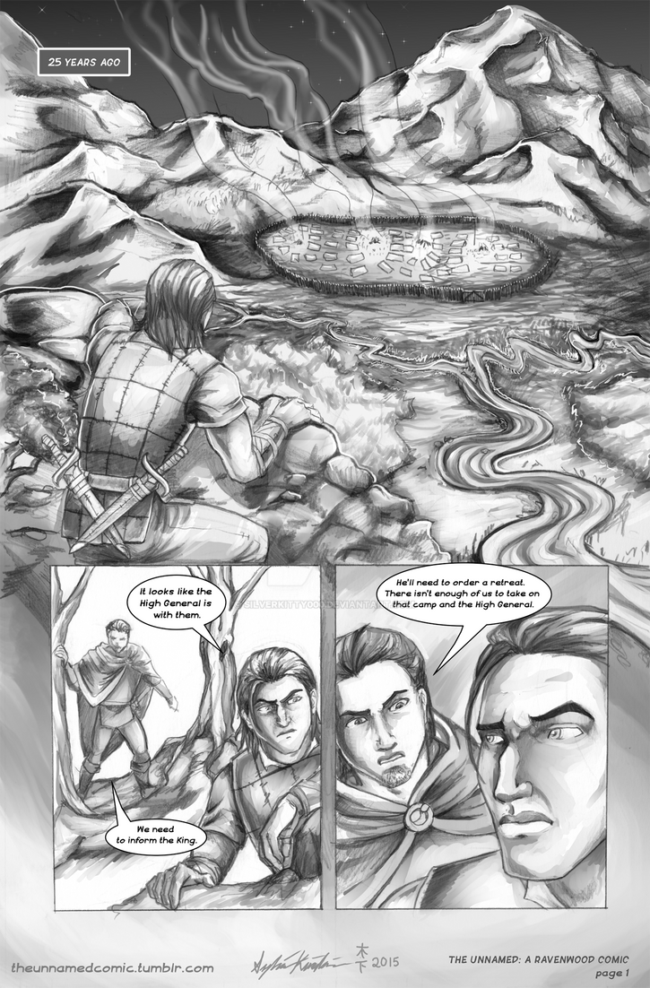 The Unnamed: page 1