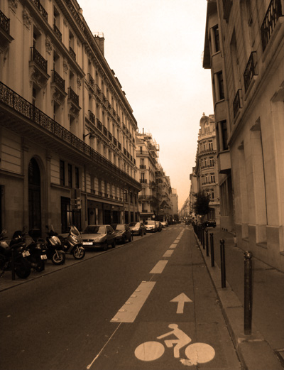 Streets of Paris by no0ra