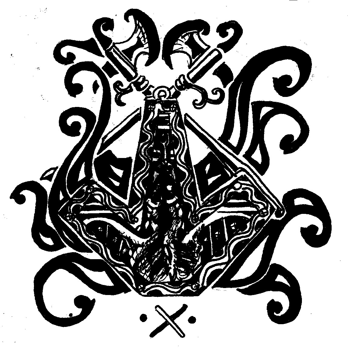 Thor Hammer Tattoo Thors hammer dragon design byThor Hammer Marvel Tattoo