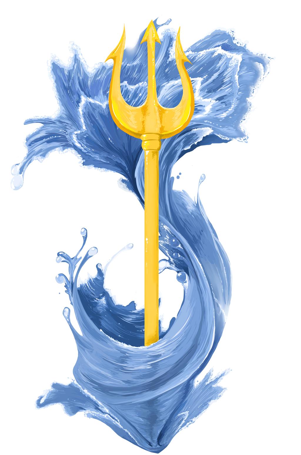Poseidon's Trident Tattoo by PumpkinSoup on DeviantArt