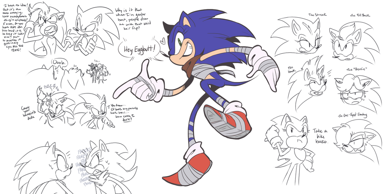 Genderbent Sonic By PumpkinSoup On DeviantArt
