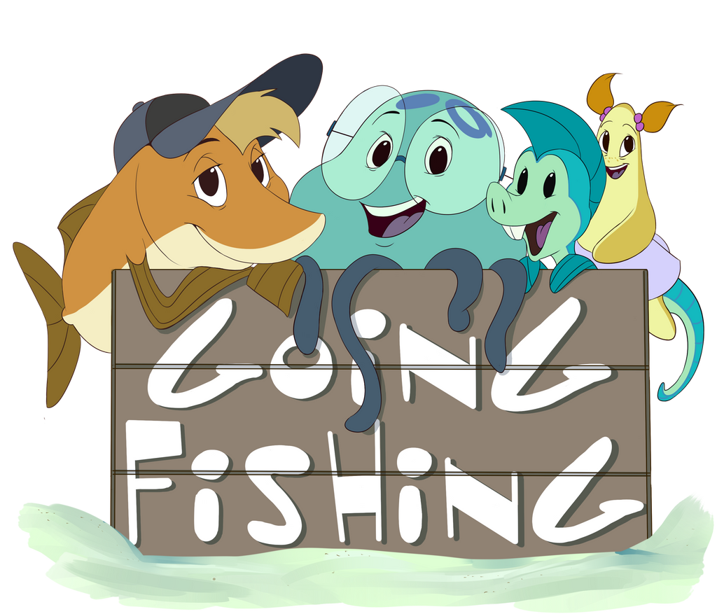 Help i 39 m a fish going fishing shirt design by for Help i ma fish